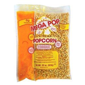 (Gold Medal Mega Pop Popcorn, Oil and Salt Kits - 16 oz. - 20 ct. case)