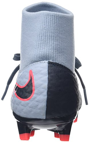 Nike Men's Hypervenom Phelon 3 DF FG Football Boots Blue (Light Armory Blue/Black-armory Blue-hot Punch) X08m4eikp
