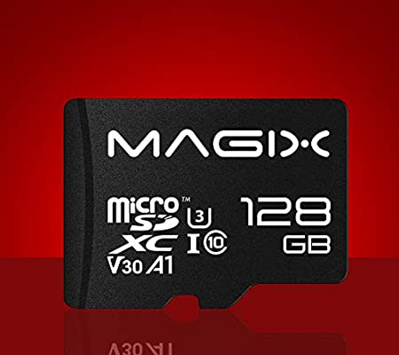 Magix Micro SD Card 4K Series Class10 V30 + SD Adapter UP to 100MB ...