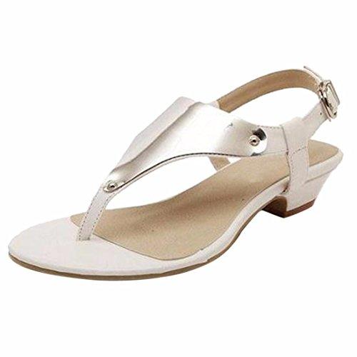 Talon QIYUN Plat Sangle Sandales Femmes Z Tongs De Cheville Argent Doux Sexy Chaussures Boho Nouvelles Plage rUXYwr