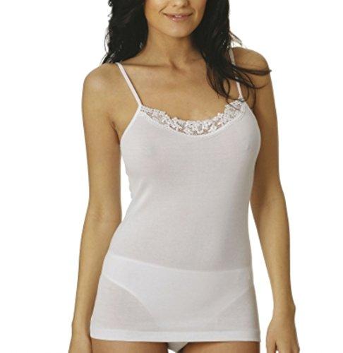 VAJOLET - Pull sans manche - Femme blanc Bianco Large