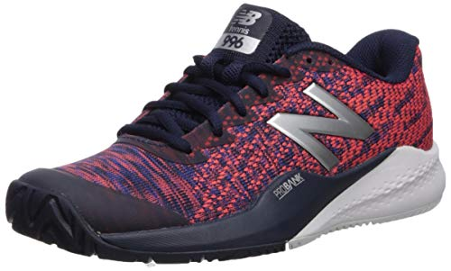 New Balance Women's 996v3 Hard Court Tennis Shoe, Pigment/Multi, 11 N US