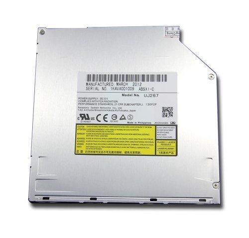 New Panasonic UJ267 UJ-267 9.5mm SATA Slot-in 6X 3D Blu-Ray Burner BD-RE 4X BDXL BD-R XL TL QL DL Dual Layer Recorder Super Slim Internal Optical Drive
