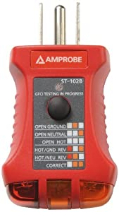 Amprobe ST-102B Socket Tester with GFCI