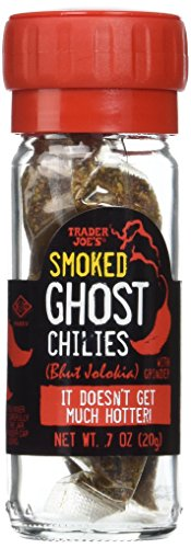 - Trader Joe's Smoked Ghost Chilies with Grinder, 0.7 oz