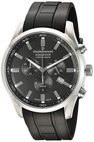 Claude Bernard by Edox Aquarider Men's Watch 10222.3CA.NV Chronograph Swiss