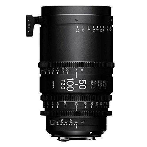 シグマ50 – 100 mm t2 Cine高速ズームレンズfor Canon EF   B0747TQTH7