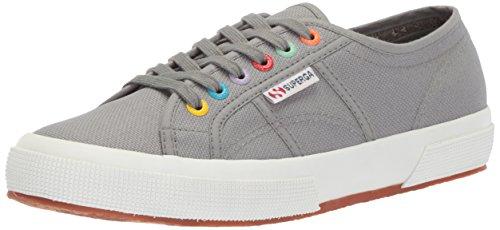 Superga Women's 2750 Coloreyecotu Sneaker - Grey Sage (Large Image)