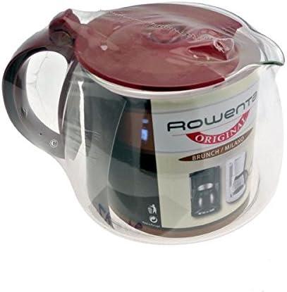 Rowenta - Jarra con tapa roja cg346 para cafetera Rowenta Brunch: Amazon.es: Hogar