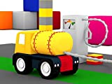 Colored cars and the fuel tanker