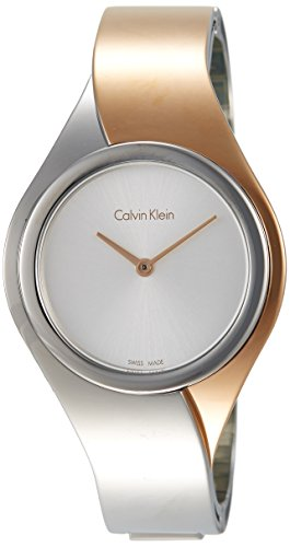 Calvin Klein K5N2M1Z6 Damenuhr Womens Watch- Silver Dial Stainless Steel Case Quartz Movement