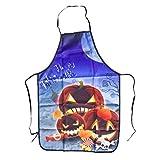 SUPVOX Halloween Pumpkin Apron Fashion Kitchen Apron Printing Party Apron for Decor Pumpkin
