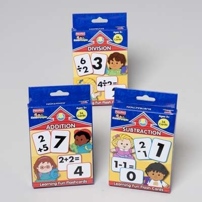 Fisher-Price Addition Flash Cards: Office Products