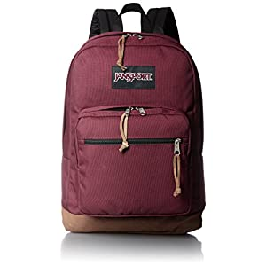 "JanSport Right Pack Laptop Backpack - 15"" (Russet Red)"