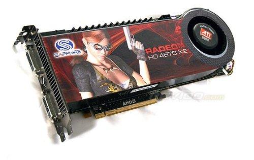 100251SR Sapphire Radeon HD 4870 X2 Graphics Card 100251SR