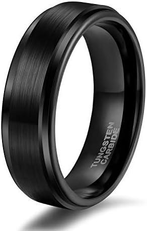 Shuremaster Black Tungsten Wedding Comfort