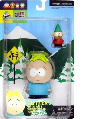 (South Park Butters with an Underpants Gnome Mirage Toys 2003)