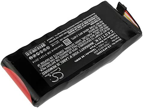 GAXI Battery for AeroFlex 3500A Cobham AvComm 8800S Replacement for P//N 7020-0012-500