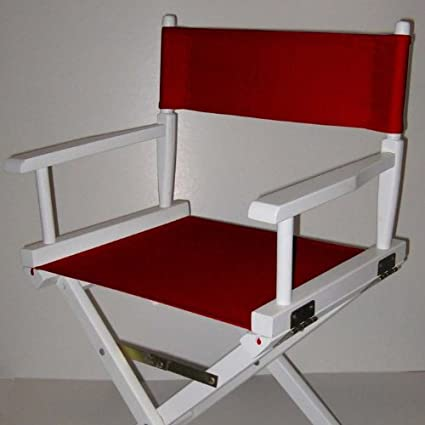 Yu Shan CO USA Ltd 021 69 Director Chair Replacement Cover Kit44; Chili  Pepper