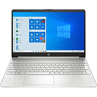 "2020 HP 15.6"" Touchscreen Laptop Computer/ 10th Gen Intel Quard-Core i5 1035G1 up to 3.6GHz/ 12GB DDR4 RAM/ 256GB PCIe SSD/ 802.11ac WiFi/ Bluetooth 4.2/ USB 3.1 Type-C/ HDMI/ Silver/ Windows 10 Home"