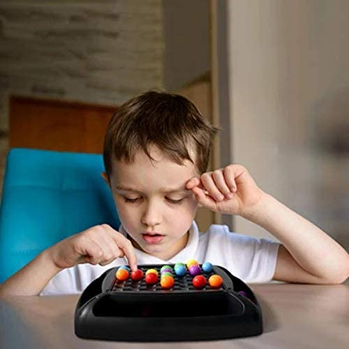 Rainbow Ball Elimination Game Rainbow Puzzle Magic Chess Toy Set for Kid Adult XIXIXI Magic Chess
