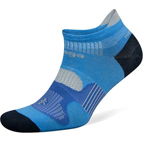 (Balega Hidden Dry No Show Socks for Men and Women (1 Pair), French Blue/Navy,)