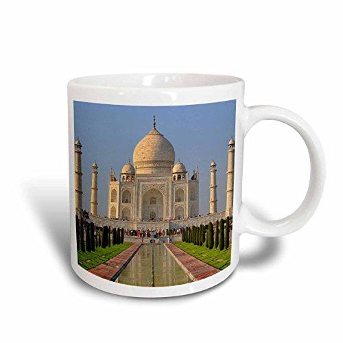 (3dRose Taj Mahal Agra India AS10 AJE0014 Adam Jones Ceramic Mug, 11-Ounce)