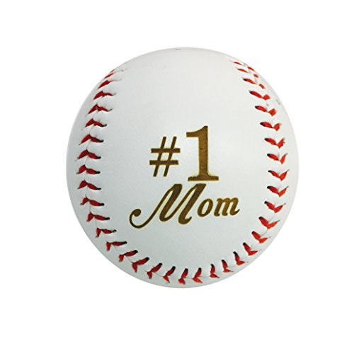 Hat Shark Number One #1 MOM Laser Engraved Synthetic Leather Baseball Gift - Mother's Day, Birthday, Anniversary Present
