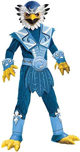 Boy's Skylanders Jet Vac Outfit Child Fancy Dress Halloween Costume, Child M (8-10) Blue -