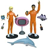 Adult Swim Action Figures - Sealab 2021 Debbie Dupree & Dr. Quentin Q. Quinn ...