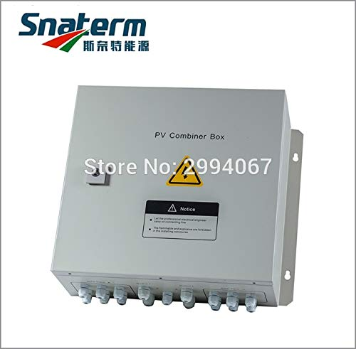(Gimax 4-String Solar PV Combiner Box Circuit Breakers Surge Lightning Protection Max. output voltage 800VDC)