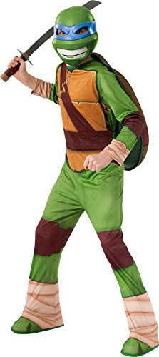 Teenage Ninja Mutant Turtle Costumes (Teenage Mutant Ninja Turtles Leonardo Costume, Small)