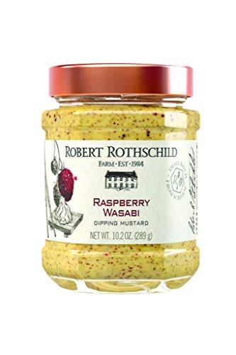 (Robert Rothschild Farm Raspberry Wasabi Dipping Mustard 10.2 oz)