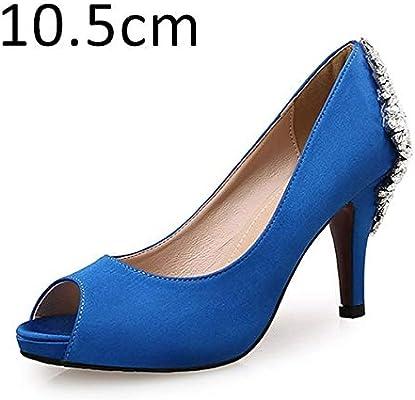 Yrreew Women Heels Shoes Brand Female Pumps Crystal Glitter High
