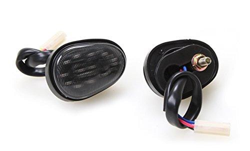 Flat Mount LED Dual Ciruit Running + Turn Signal Lights for 2015-2019 Yamaha YZF R3