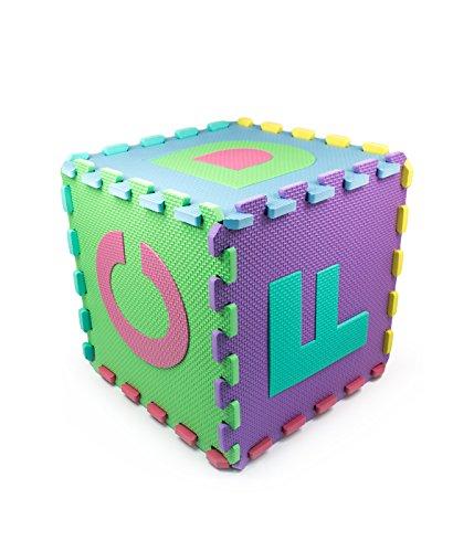 Matney Kid S Foam Floor Alphabet And Number Puzzle Mat