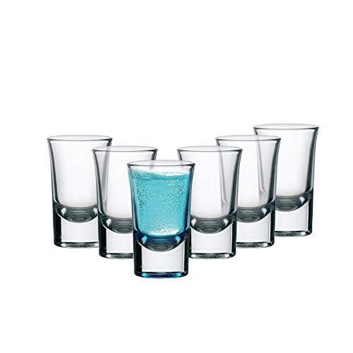 Buy Cello Carino Shot Glass Set, 30ml, Set of 6, Clear start from Rs. 99
