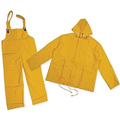 .com : Stansport Cloth Back Rain Suit, Yellow, X-Large : Camping Hiking : Sports & Outdoors