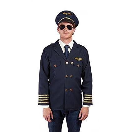 P tit payaso 28052 disfraz adulto Piloto del aire - Talla única ...