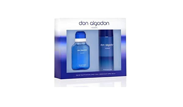 Don Algodon, Set de fragancias para hombres - 200 ml.: Amazon.es: Belleza