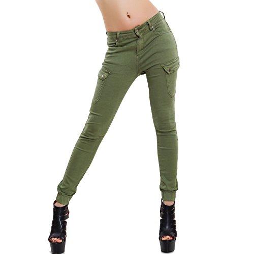 Gris Toocool Femme gris XS Skinny Vert Jeans 7Wq4U