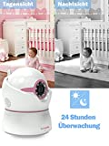 Sumpple 720P Pan/Tilt Zoom Wireless Wifi Baby Monitor Video Camera with Night Vision, Motion/Sound Alarm, Two-Way Audio, Music Play,Temperature and Humidity Sensor.