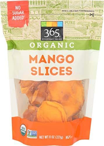 Dried Fruit & Raisins: 365 Everyday Value Organic Mango Slices