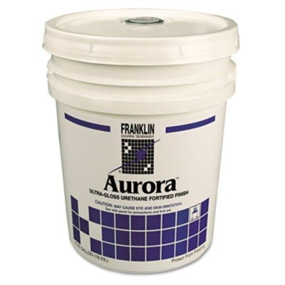 Franklin Cleaning Technology F137026 Aurora Ultra Gloss Fortified Floor Finish, 5gal Pail