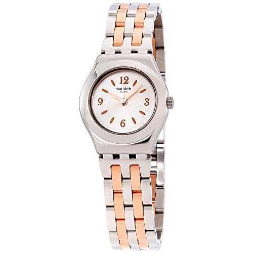Swatch Irony Minimix Silver Dial Stainless Steel Ladies Watch -