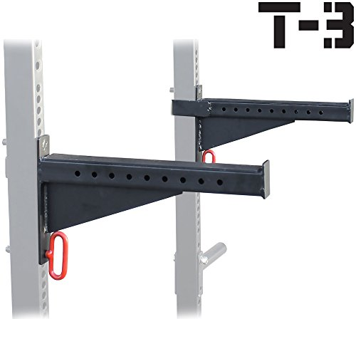 Spotter-Arms-for-T-3-HD-Power-Rack-With-2x3-Tubes-Bench-Press-Squat-Lift-Safety