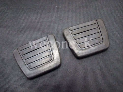 K1AutoParts 1 Pair Rubber Pedal Pad for Brake and Clutch For Datsun 510 (1968-1972) / 240Z, 280Z, 280ZX (1970-1983)