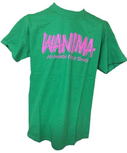 WANIMA(ワニマ)公式グッズ ピザオブデスロゴ Tシャツ M グリーンの商品画像