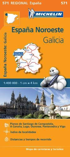 Mapa Regional Galicia (Carte regionali): Amazon.es: Vv.Aa ...