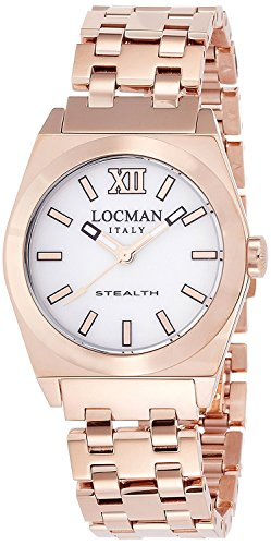 LOCMAN watch stealth Lady Quartz Ladies 0204 0204RGMWF5N0BRG Ladies
